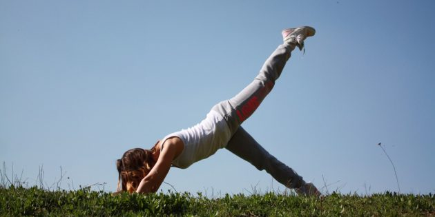 Image of woman exercising
