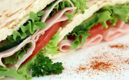 A sandwich which is great nutrition for hockey players