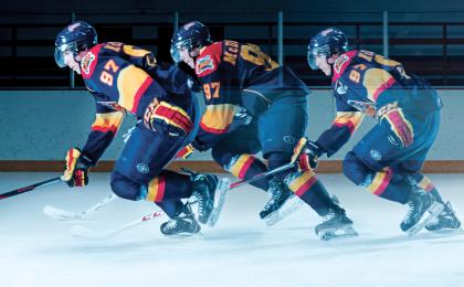 Hockey Player Training